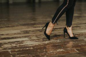 storia scarpe con tacco donna